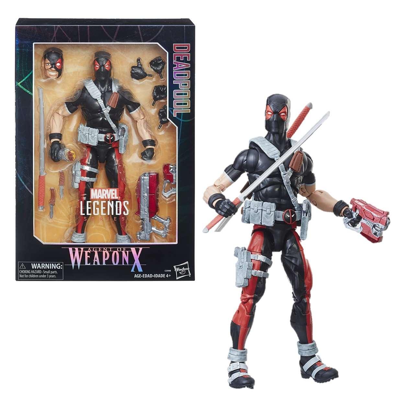 Deadpool Agent Weapon X Figura Marvel Legends