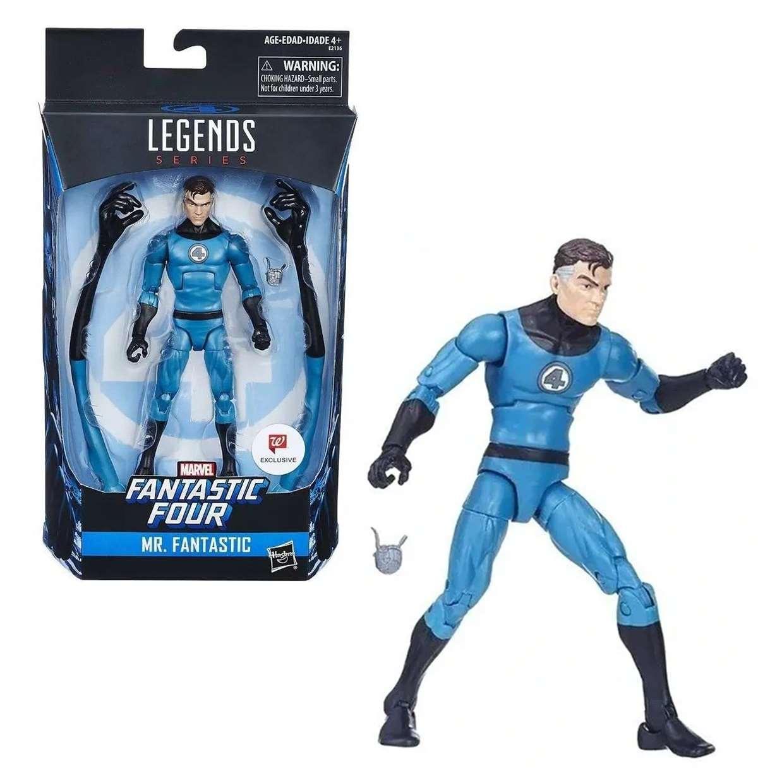 Mr Fantastico Figura Fantastic Four Legends Exc Walgreens