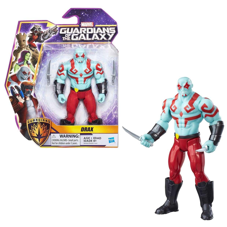 Drax Figura Marvel Guardianes De La Galaxia 6 Pulg