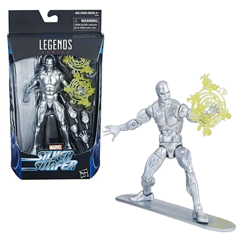 Silver Surfer Figura Marvel 4 Fantásticos Legends Series 6 Pulg