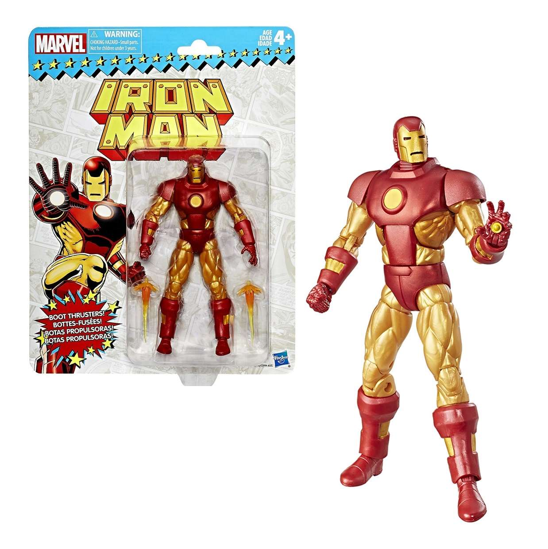 Iron Man Figura Marvel Legends Vintage Style Hasbro