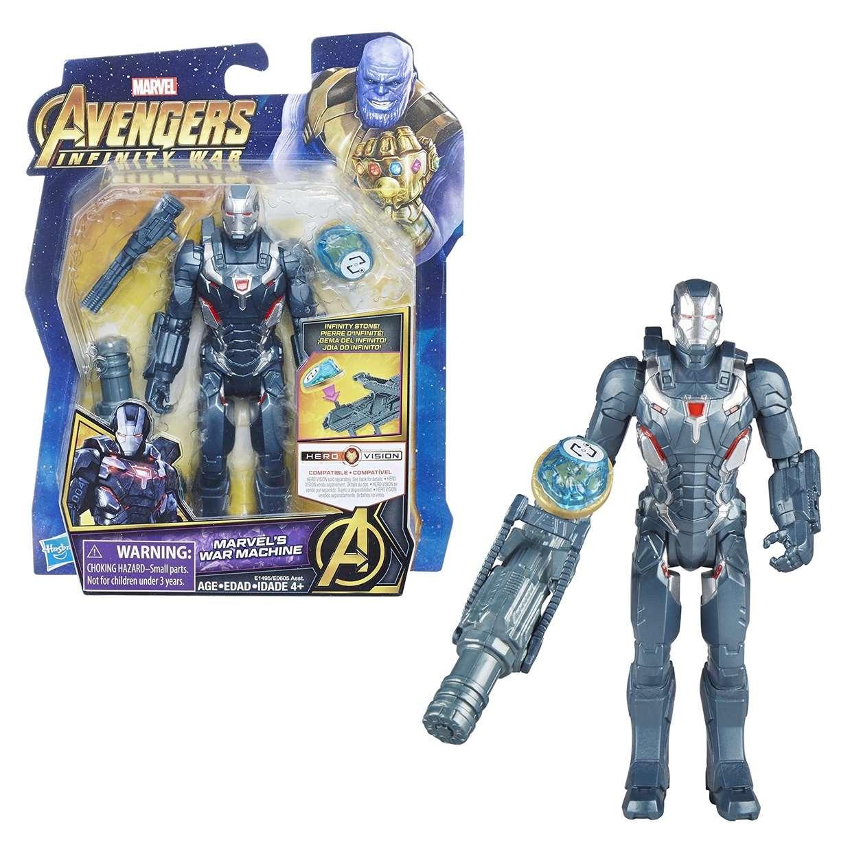 War Machine Figura Marvel Infinity War Gemas Del Infinito