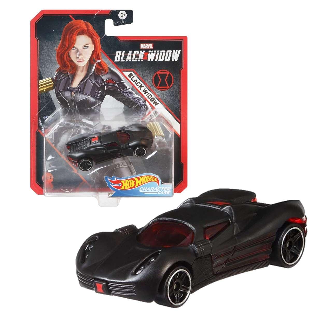 Black Widow Gjh91 Hot Wheels Marvel Character Cars