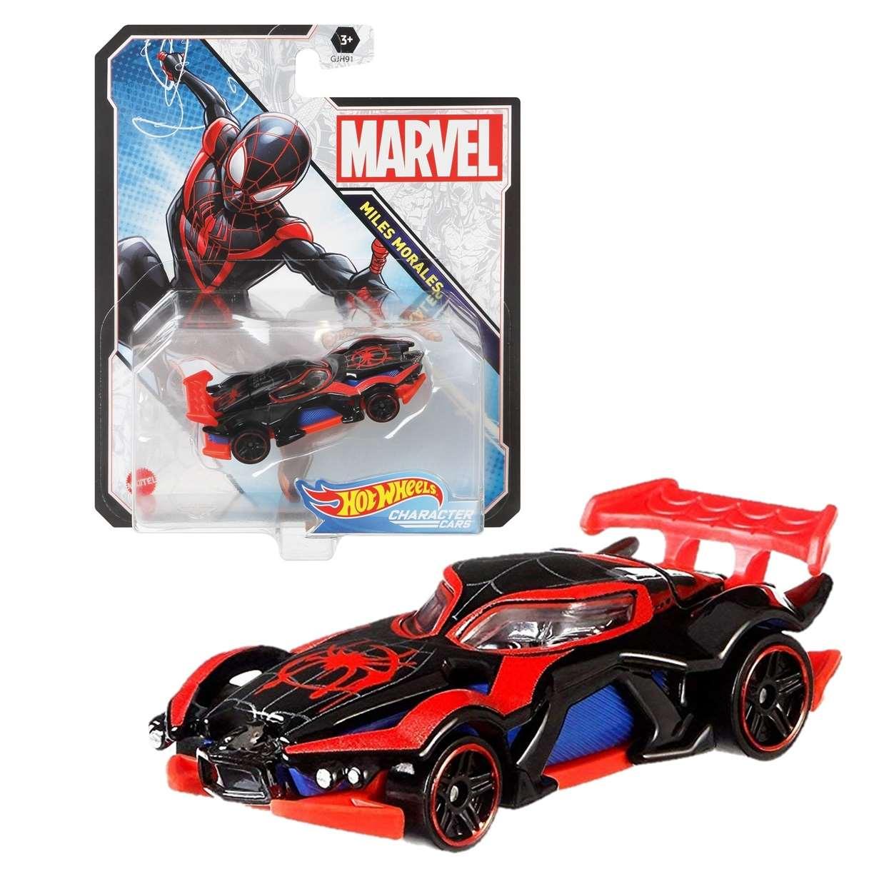 Miles Morales Gjh91 Hot Wheels Marvel Character Cars