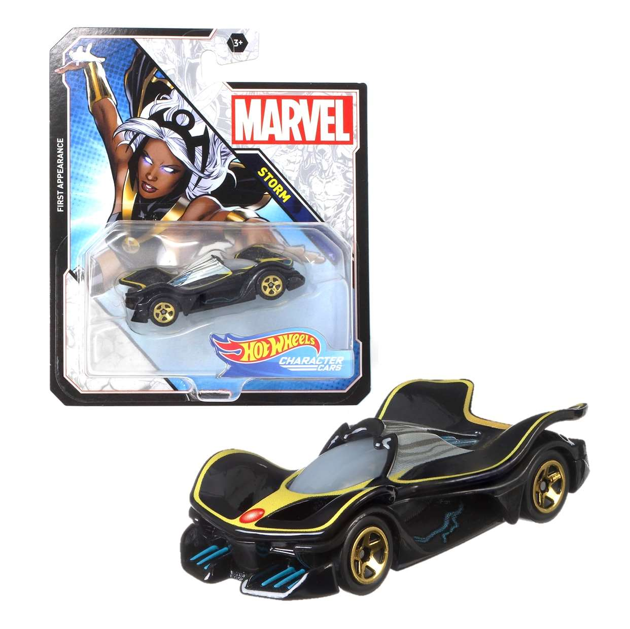 Storm Hot Wheels Marvel First Appearance Character Car