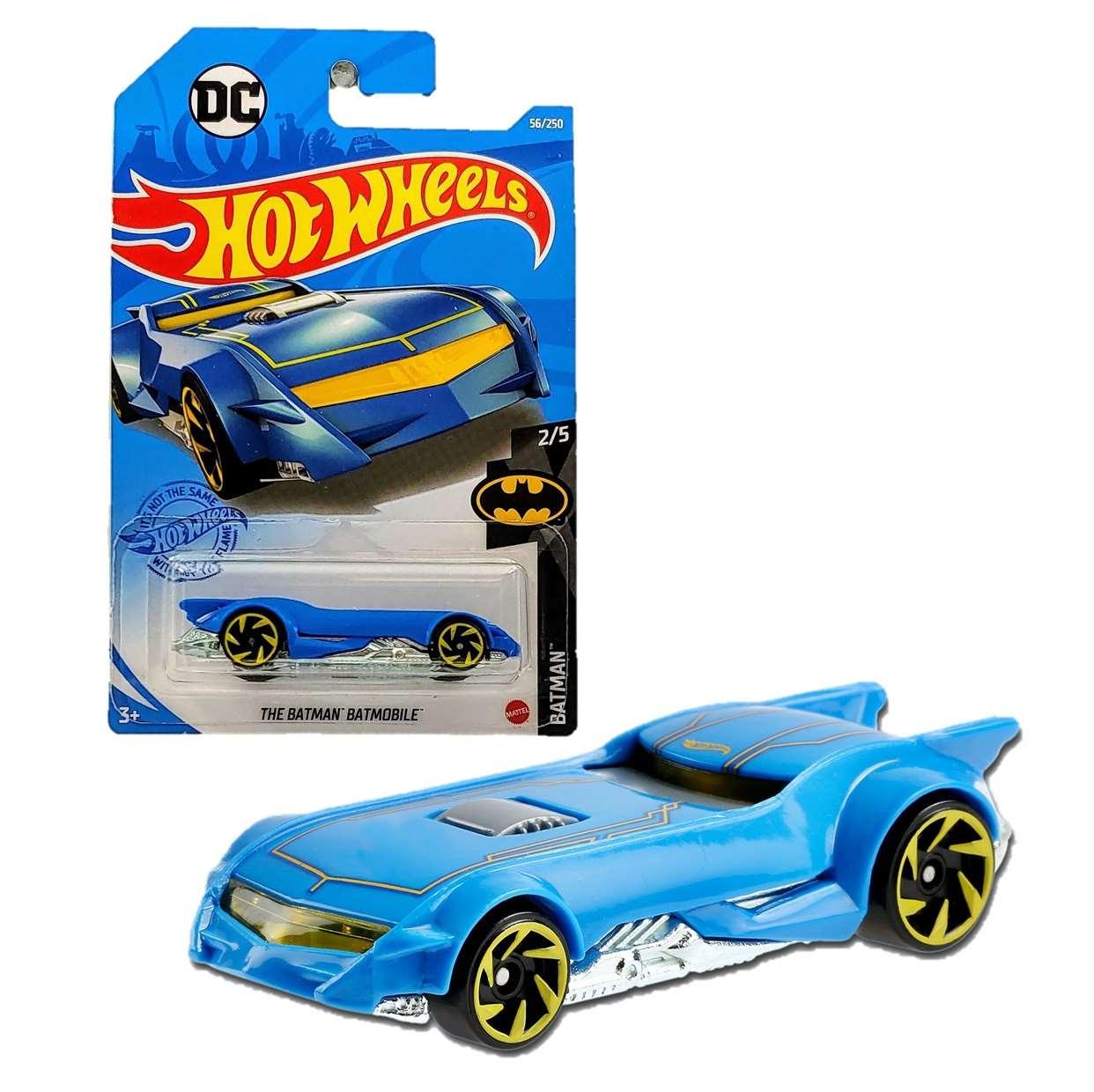 Batmobile Azul 2/5 Hot Wheels Dc The Batman 56/250