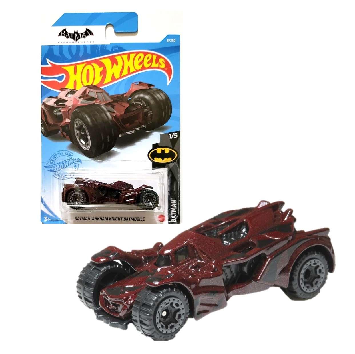 Batman Batmobile Arkham Knight 1/7 Hot Wheels 8/250