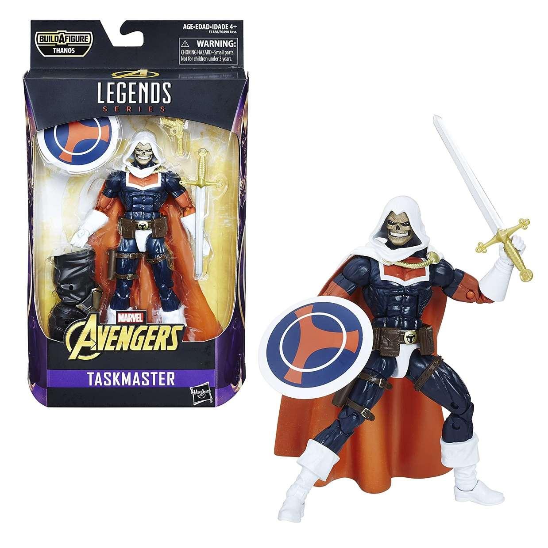 Taskmaster Figura Marvel Avengers B A F Thanos Legends 6 Pulg