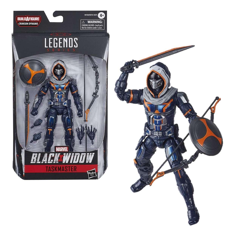Taskmaster Figura Black Widow B A F Crimson Dynamo Legends