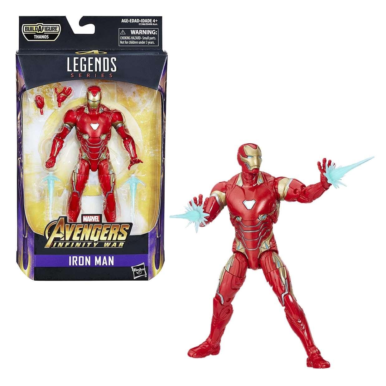 Iron Man Figura Marvel Avengers Infinity War Legends Series