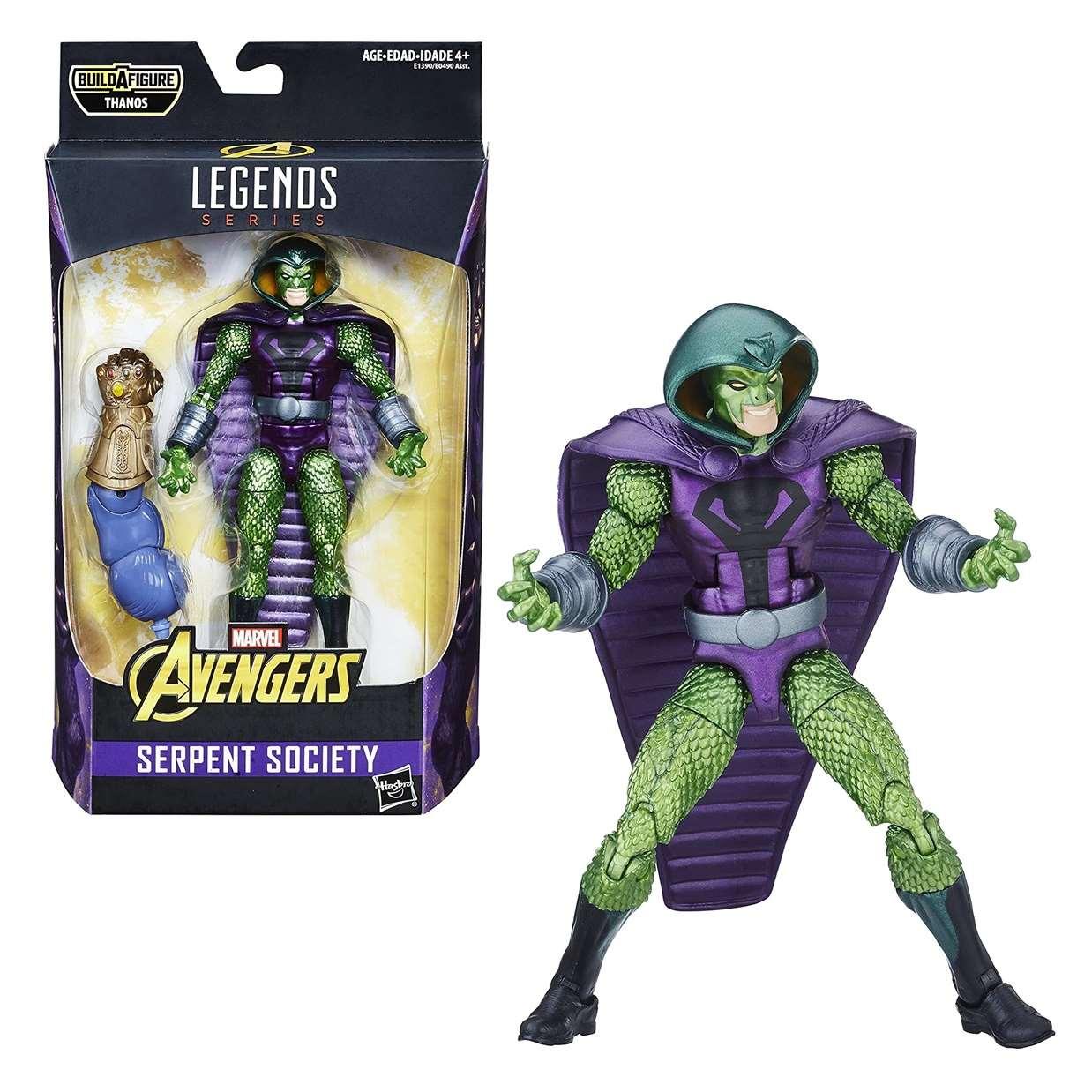Serpent Society Figura Marvel B A F Thanos Legends