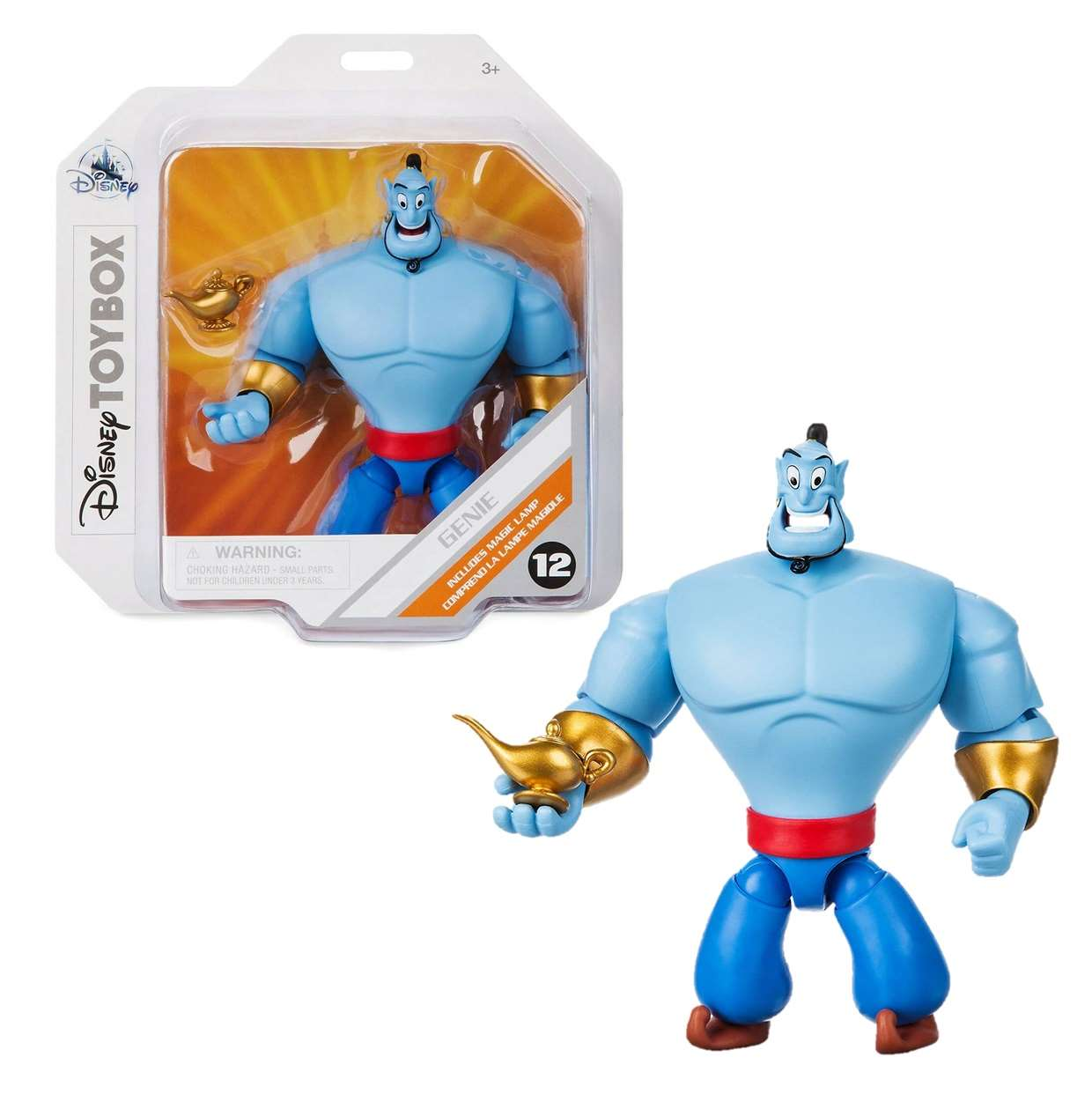 Genie Includes Magic Lamp #12 Figura Disney Toybox