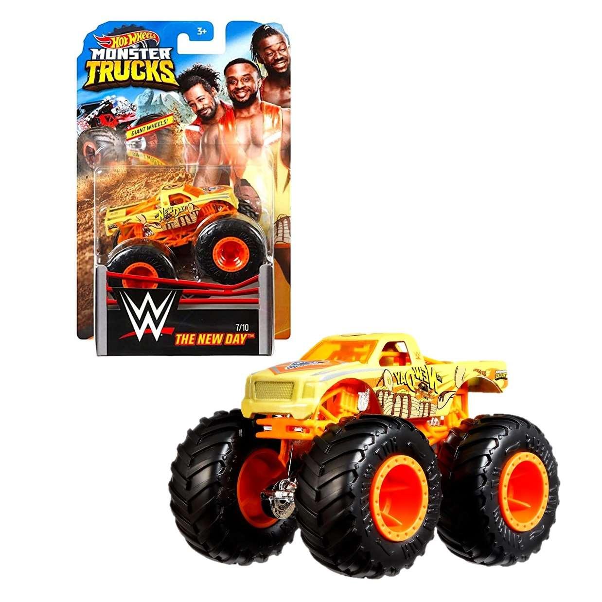 The New Day Pickup Wwe 7/10 Hot Wheels Monster Trucks