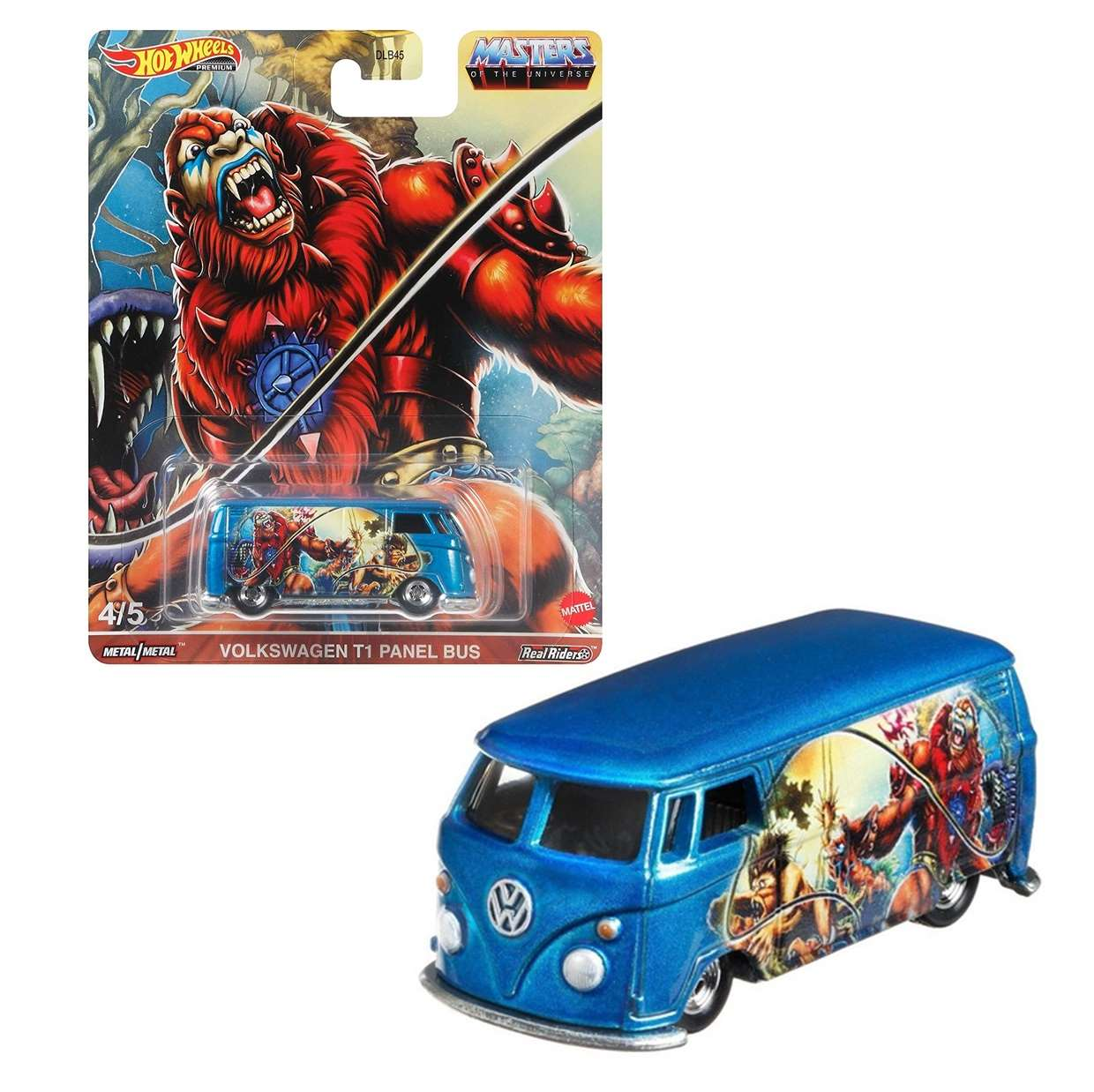 Volkswagen T1 Panel Bus Hot Wheels Masters Of The Universe