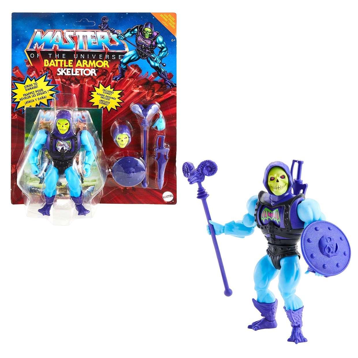 Skeletor Battle Armor Figura Masters Of The Universe