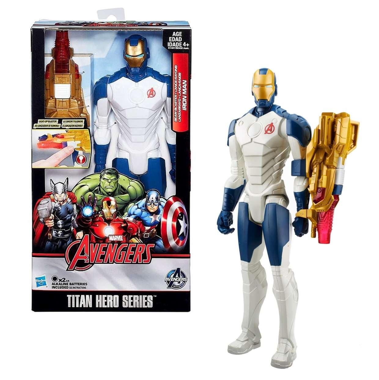 Iron Man Beam Blaster Figura Avengers Initiative Titan Hero