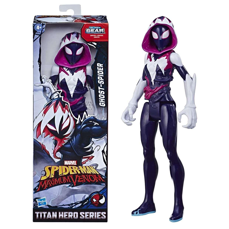 Ghost Spider Figura Spider Man Maximum Venom 12 PuLG