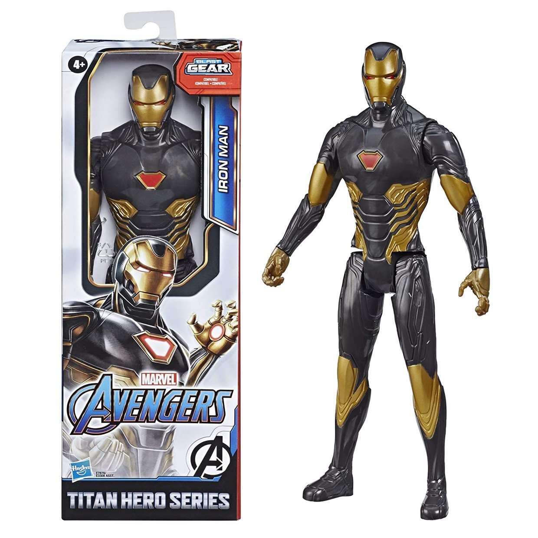 Iron Man Figura Marvel Avengers Blast Gear Titan Hero
