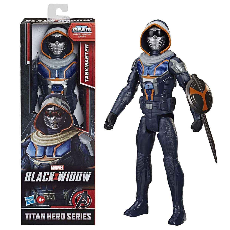 Taskmaster Figura Marvel Black Widow Blast Gear Titan Hero