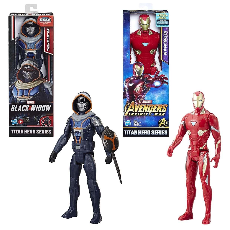Iron Man Power Fx + Iron Man Blast Gear Titan Hero Series