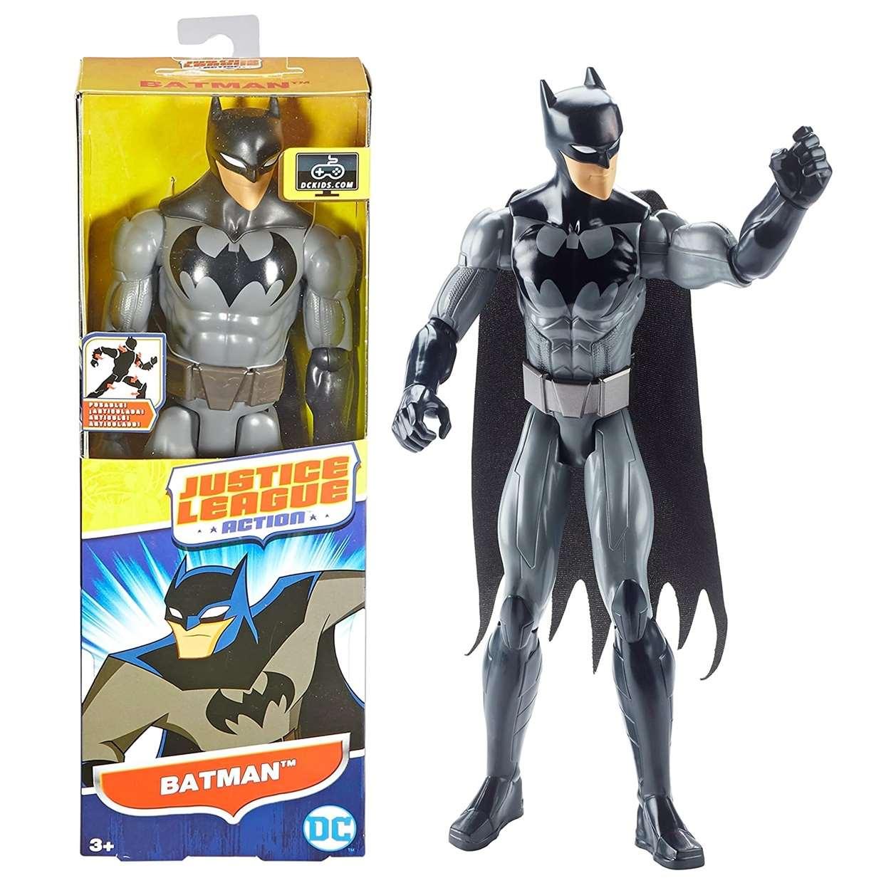 Batman Dwm49 Figura Dc Justice League Action Mattel 12 PuLG