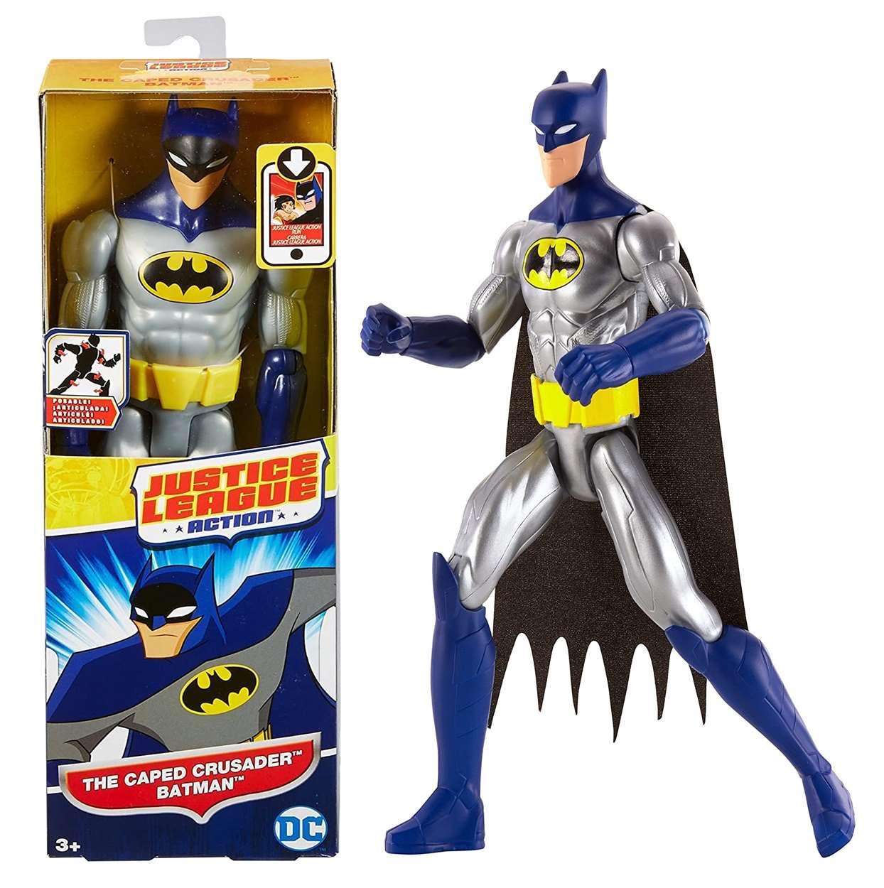 Batman The Caped Crusader Figura Dc Justice League Action