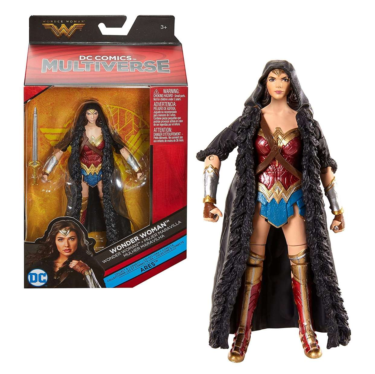 Wonder Woman Figura Dc Multiverse Collect & Connect Ares