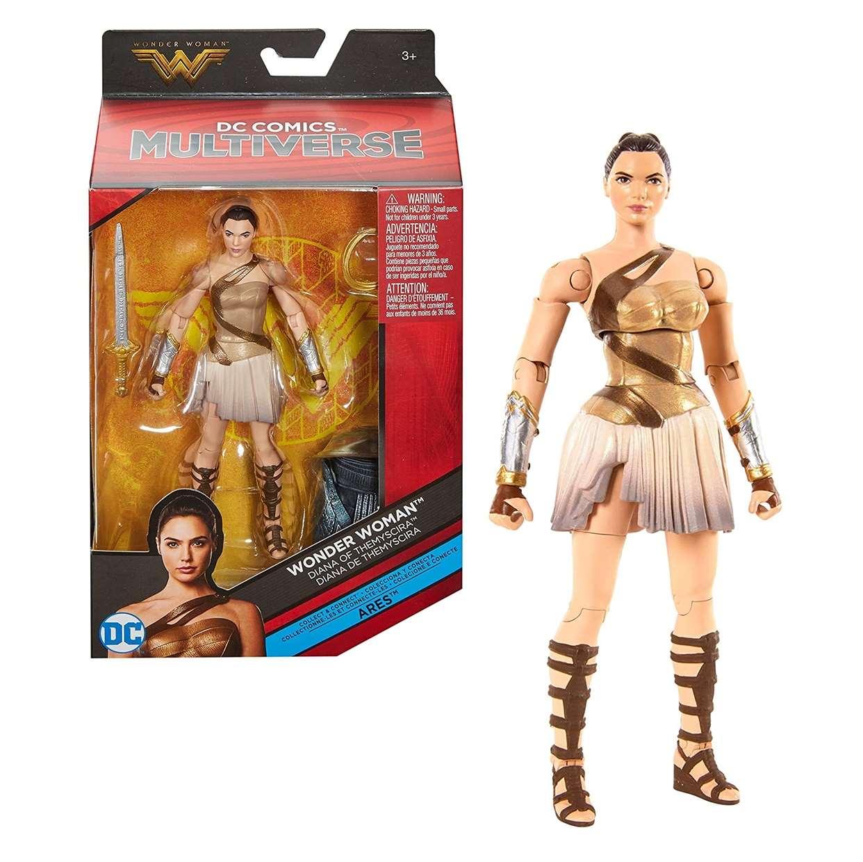 Diana De Themyscira Figura Wonder Woman Dc Multiverse Ares