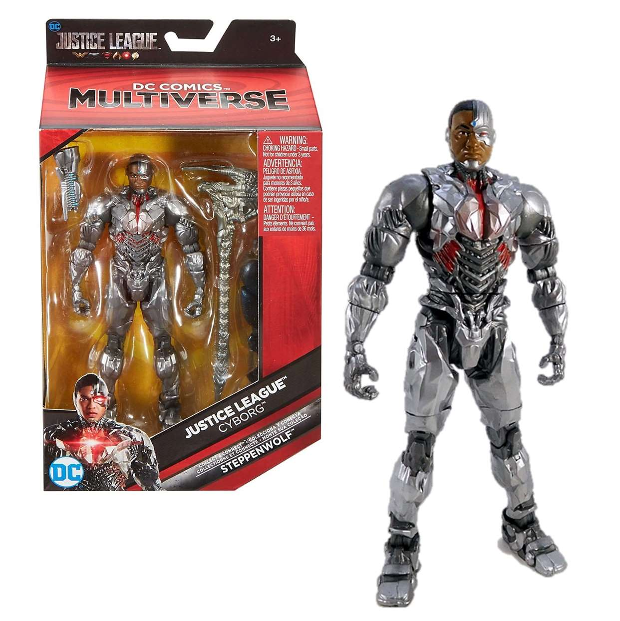 Cyborg Figura Dc Justice League Steppenwolf Multiverse