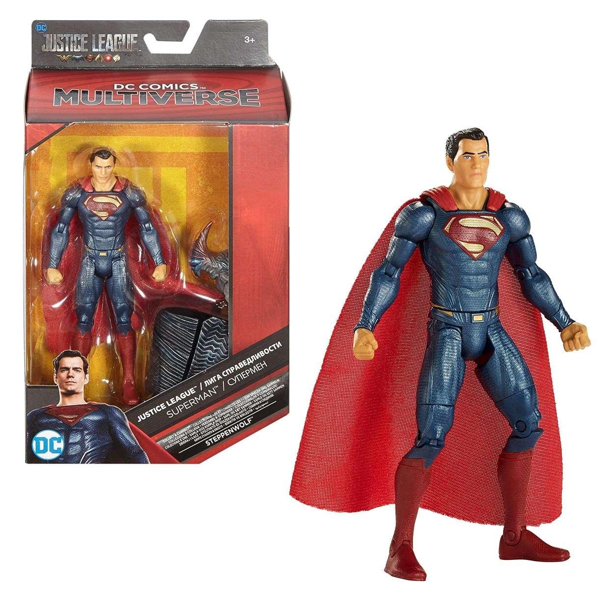 Superman Figura Justice League Steppenwolf Multiverse 6 PuLG