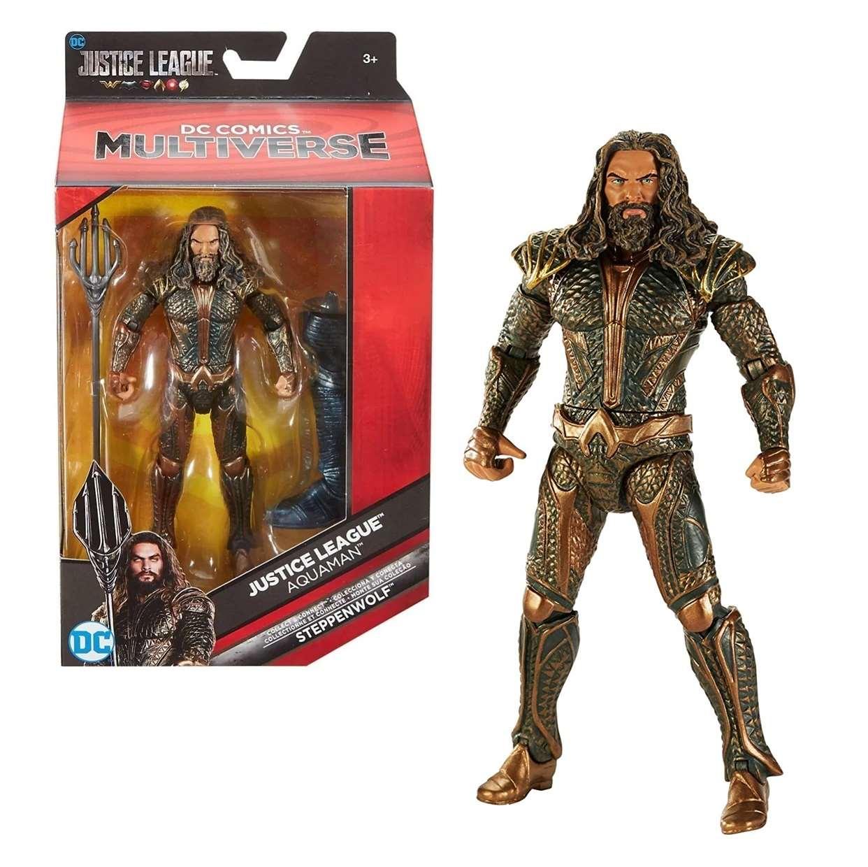Aquaman Figura Dc Justice League Steppenwolf Multiverse