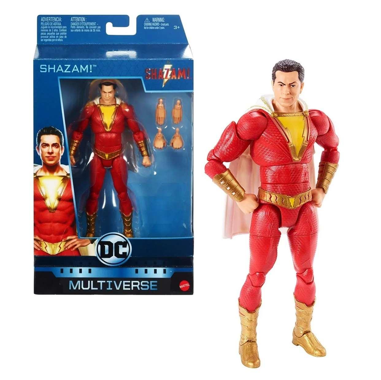 Shazam! Figura Dc Comics Tawkwy Tamny Mattel Multiverse