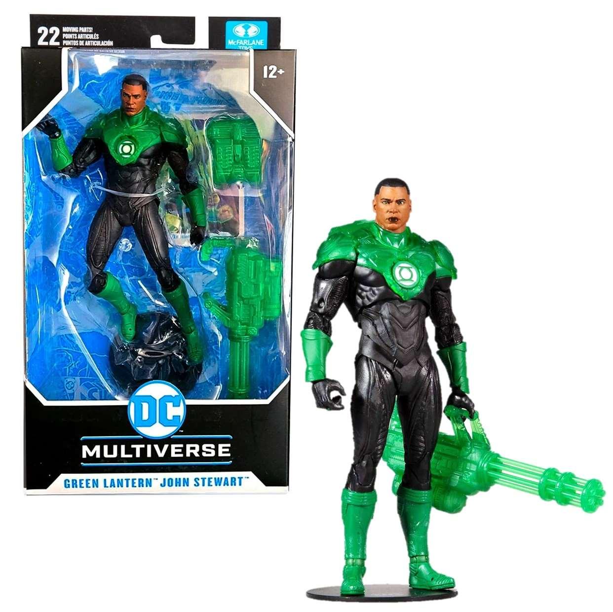 Green Lantern John Stewart Dc Rebirth Multiverse Mcfarlane