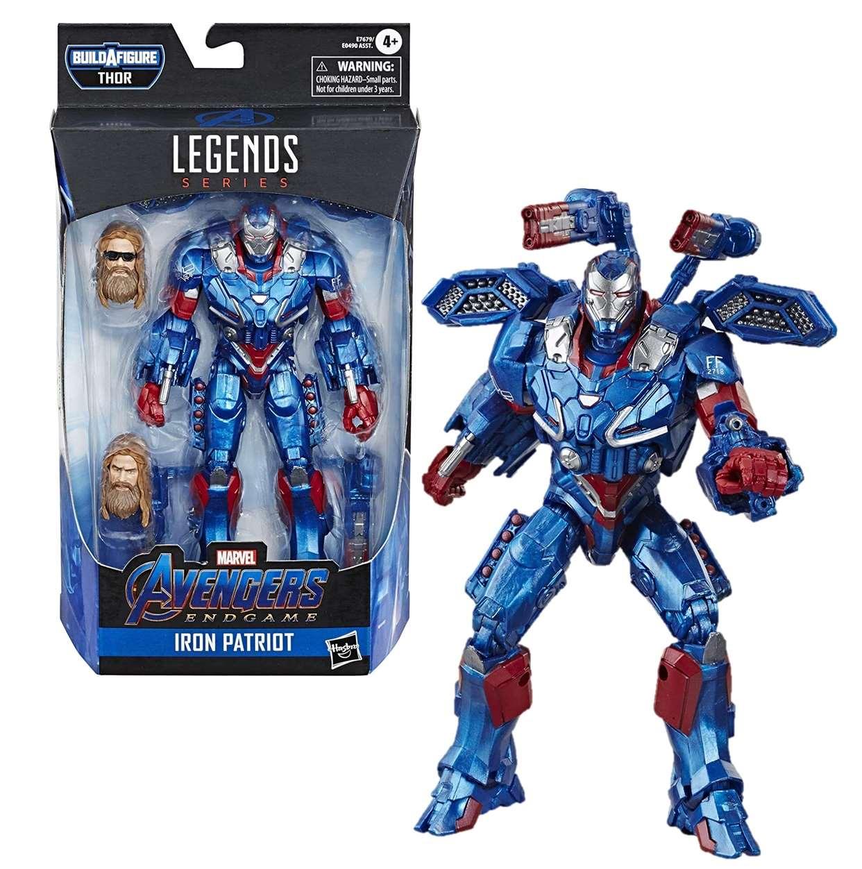 Iron Patriot Figura B A F Thor Avengers End Game Legends