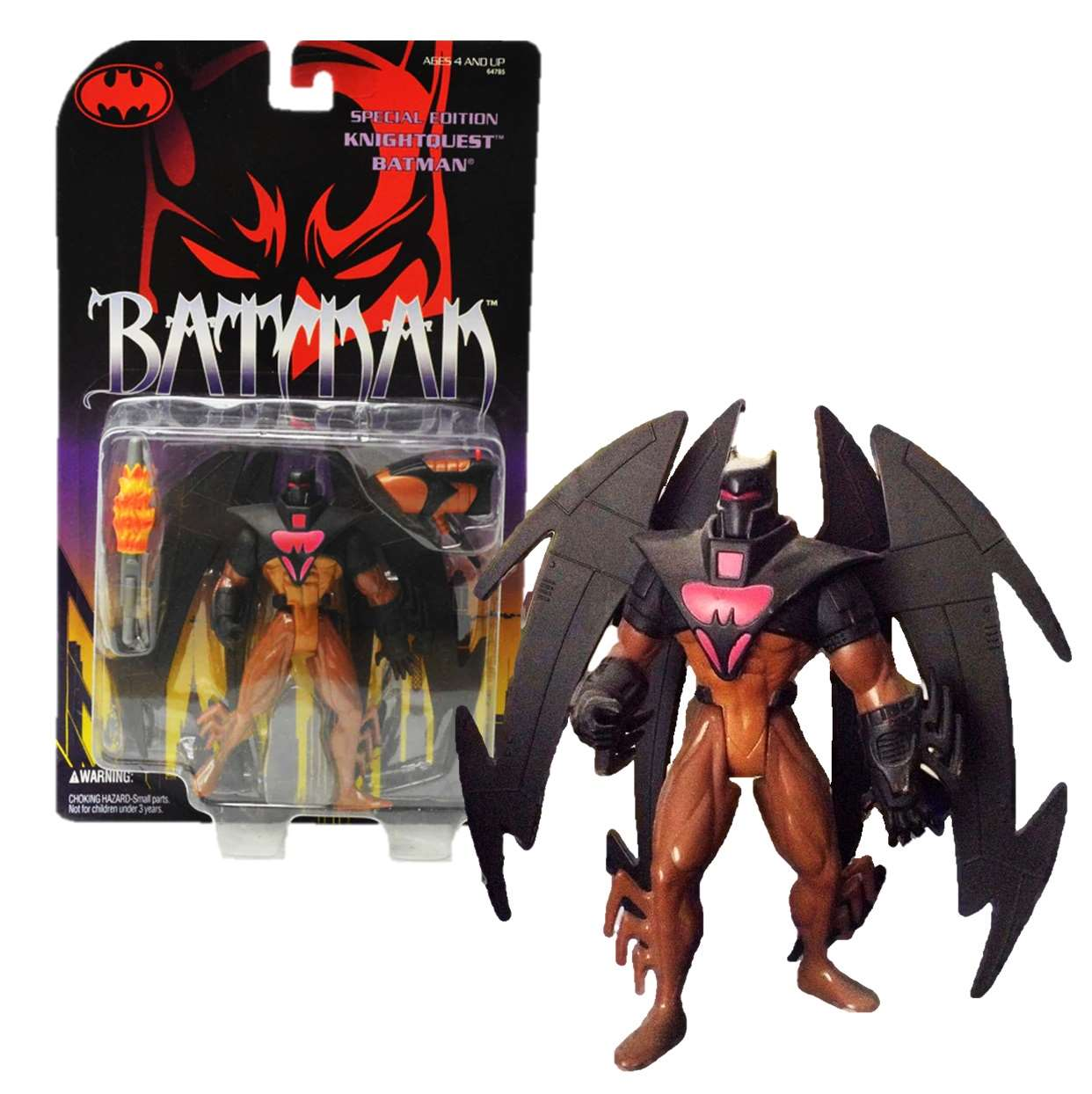 Batman Knightquest Special Edition Figura Kenner Dc Comics