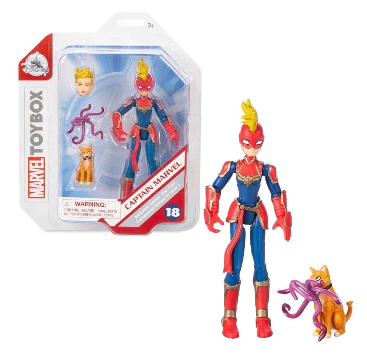 Capitana Marvel #18 Figura Marvel Toybox Disney