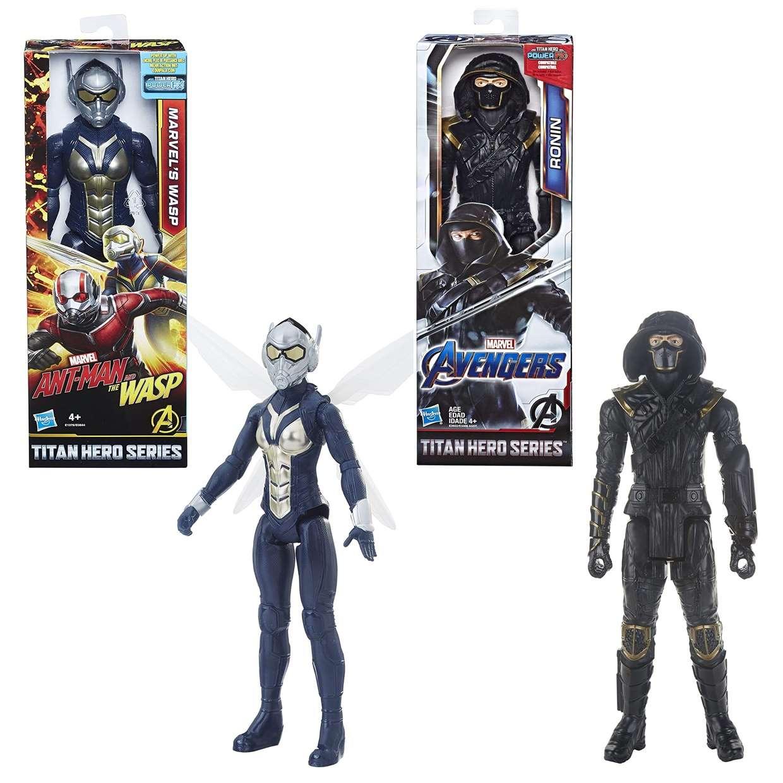 Wasp + Ronin Figuras Marvel Avengers Power FX Titan Hero