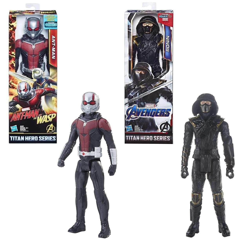 Ant Man + Ronin Figuras Marvel Avengers Power FX Titan Hero