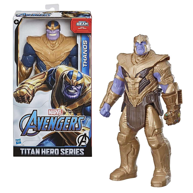 Thanos Figura Marvel End Game Power F X Titan Hero 12 PuLG