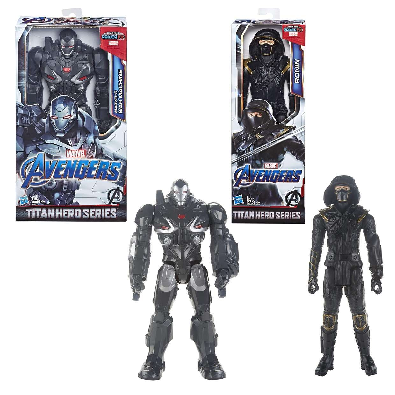 War Machine + Ronin Marvel Avengers End Game Power FX  Titan Hero