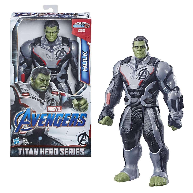 Hulk Figura Marvel End Game Power F X Titan Hero 12 Pulgadas