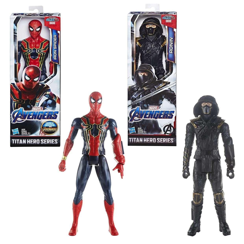 Iron Spider + Ronin Marvel Avengers End Game Power FX Titan Hero