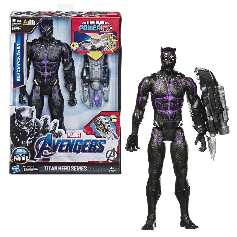 Black Panther Lanza Proyectil End Game Power F X Titan Hero