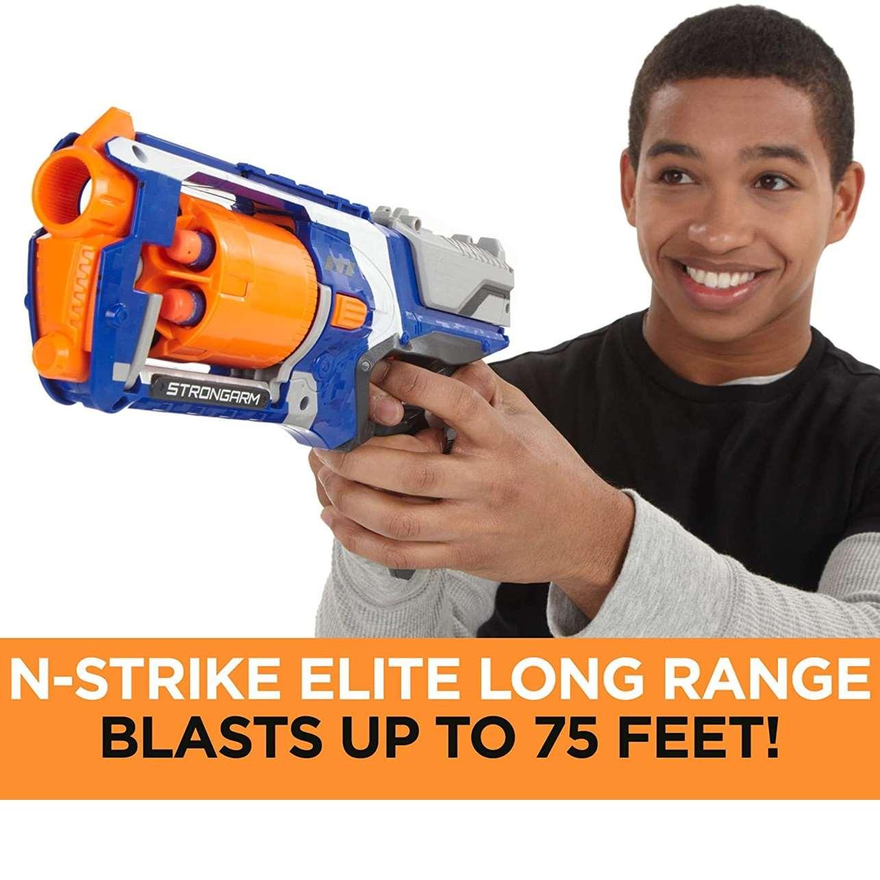 Pistola Hasbro Nerf N -Strike Elite: Strongarm Blaster