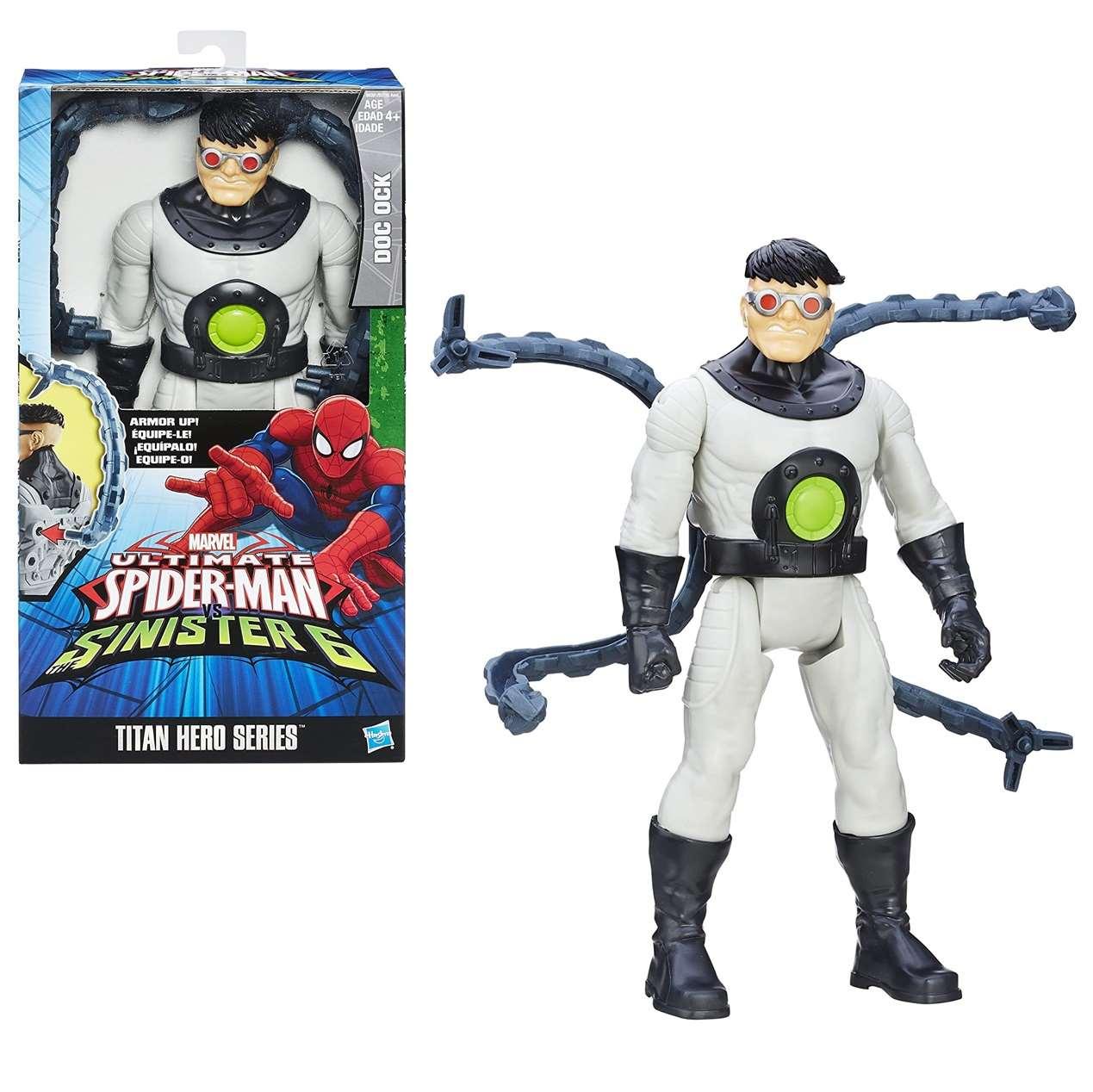 Doc Ock Octopus Ultimate Spider Man Sinister 6 Titan Hero