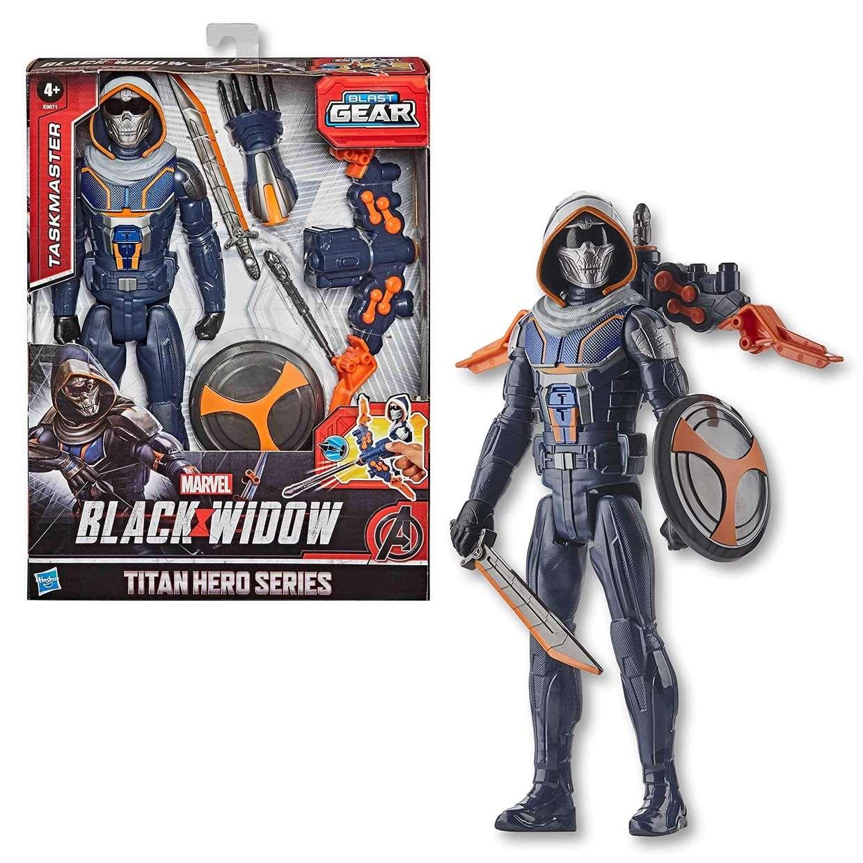 Taskmaster Lanzar Proyectil Figura Black Widow Blast Gear
