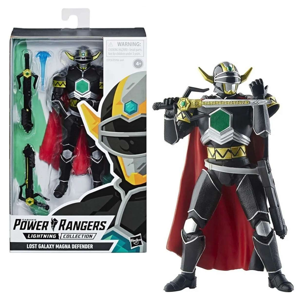 Power Rangers Lighting Collection Lost Galaxy Magna Defender
