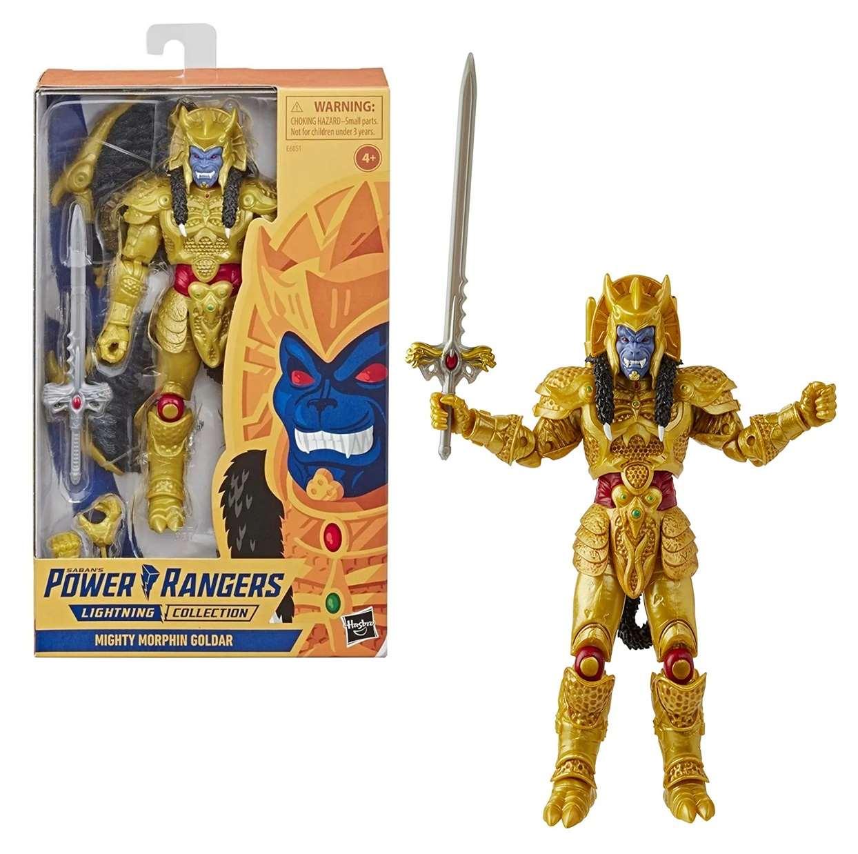 Power Rangers Lighting Collection Mighty Morphin Goldar