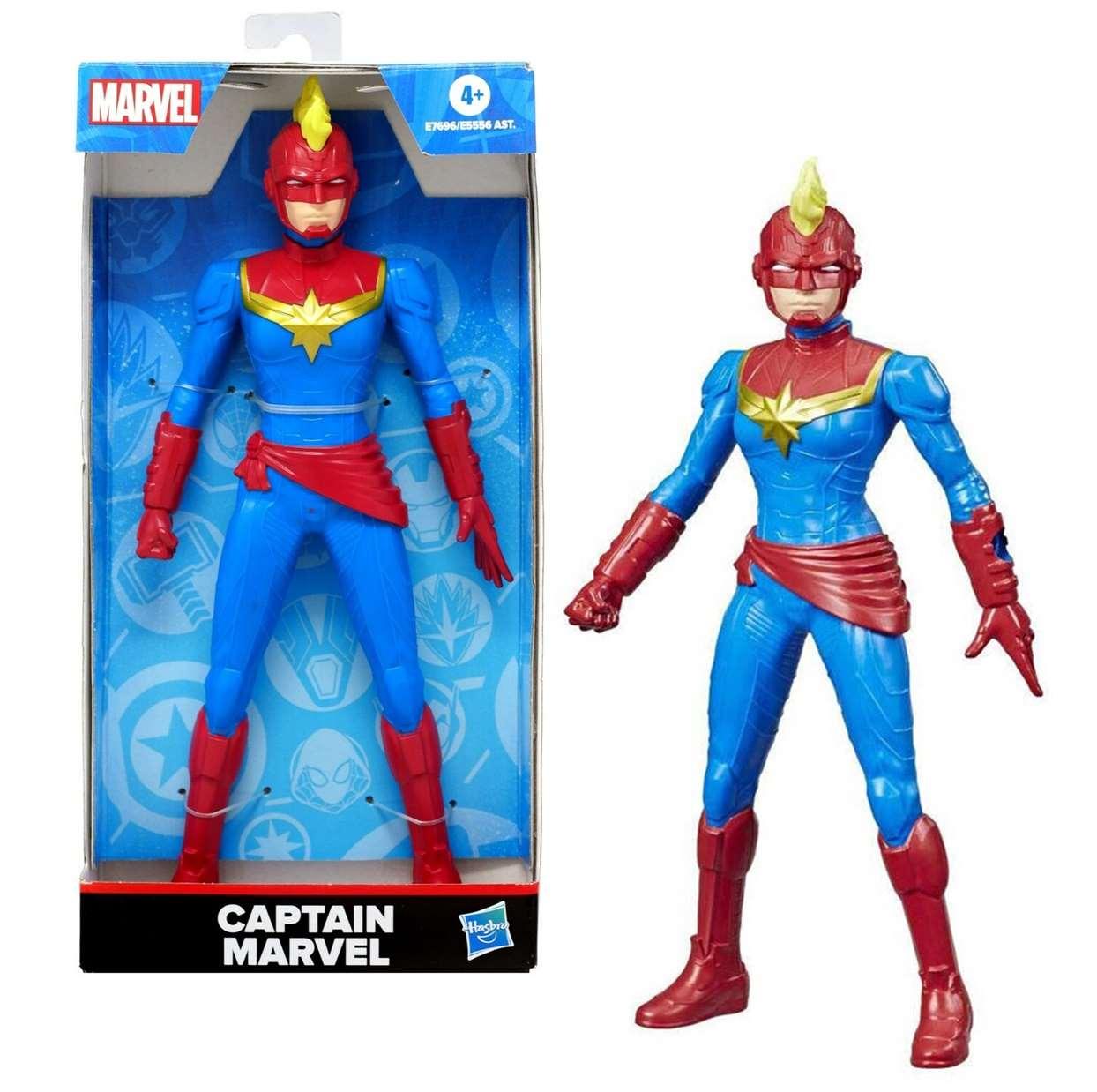 Captain Marvel Figura Marvel Hasbro E7696/ E5556 Ast 6 PuLG