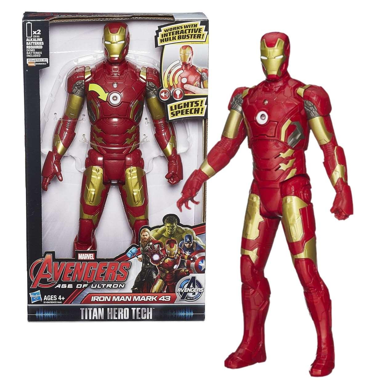 Iron Man Mark #43 Figura Avengers Age Of Ultron Titan Hero